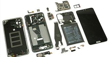 Bên trong Huawei P20 Pro: rất khó sửa, chống rung OIS cả 3 camera