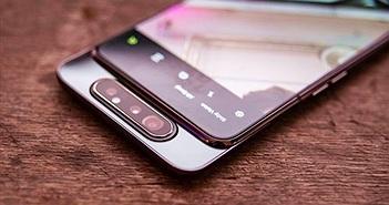 Galaxy A80 ra mắt: camera vừa trượt vừa xoay độc đáo, giá từ 732 USD