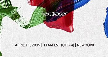Trực tiếp sự kiện Next@Acer 2019: gaming và hơn thế nữa