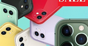 """Dòng iPhone 11 tiếp tục giảm siêu """"sốc"""" tuần này"""