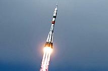 Phi hành gia bay lên vũ trụ sau một tháng cách ly