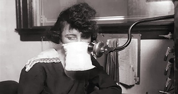 """Vì sao các công ty """"cầu xin"""" khách hàng hạn chế dùng điện thoại trong đợt cách ly xã hội 102 năm trước?"""