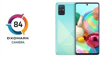 Galaxy A71 đạt số điểm đáng thất vọng trên DxOMark