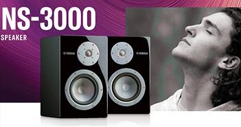 Yamaha NS-3000 trình làng với công nghệ 100% từ loa đầu bảng NS-5000