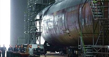 Triều Tiên sẵn sàng tung tàu ngầm mới nặng 3.000 tấn