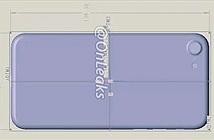 Lộ bản phác thảo sơ bộ của iPhone 7 có kích thước tương tự iPhone 6S