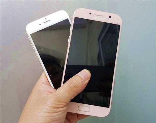 Galaxy A5 2017 với iPhone 6: Chọn cấu hình mạnh hay siêu phẩm 3 năm tuổi?