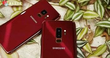 Samsung âm thầm ra Galaxy S9 và S9 Plus màu đỏ đẹp quý phái