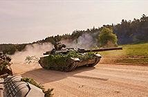 """Siêu tăng T-84 giúp Ukraine """"nở mày nở mặt"""" khi tập trận ở Đức"""