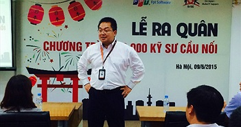 """Chủ tịch FPT Software Hoàng Nam Tiến: """"Hãy thay đổi cuộc đời bạn sau 1 năm"""""""