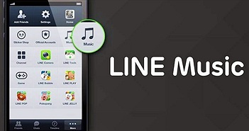 Ứng dụng Line chính thức ra mắt dịch vụ âm nhạc trực tuyến