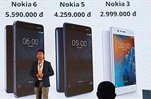 Smartphone Nokia trở lại Việt Nam, giá từ 3 triệu đồng