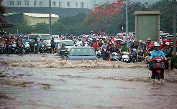 Ứng dụng giúp cảnh báo và tra cứu các điểm bị ngập lụt từ smartphone
