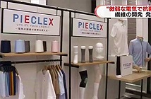 Công ty Nhật Bản tạo ra loại vải có thể sốc điện tiêu diện vi khuẩn