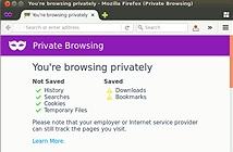 Chế độ duyệt web ẩn danh không phải nơi trú ẩn an toàn trong thế giới online