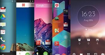 6 Launcher Android tốt nhất trên Play Store