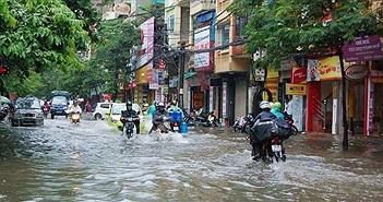 Bắc Bộ mưa to về đêm và sáng, Hà Nội khả năng ngập úng