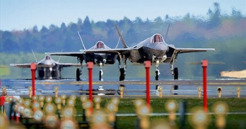 Ảnh chiến đấu cơ F-35 thế hệ mới của quân đội Mỹ