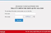 Địa chỉ tra cứu điểm thi THPT 2018 ở Hà Nội