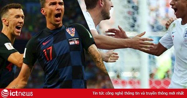 Địa chỉ xem Croatia vs Anh trực tiếp trên VTV3