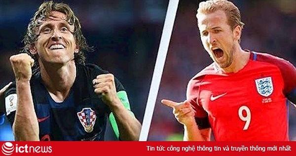 Trận Anh vs Croatia: Tam sư gặp lợi thế, Croatia... kiệt sức?