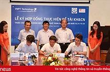 VNPT Technology ký hợp đồng thực hiện đề tài thuộc Chương trình KH&CN trọng điểm cấp nhà nước về Chính phủ điện tử