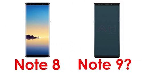 Galaxy Note 9 lần đầu lộ thiết kế không thay đổi quá nhiều