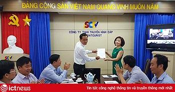 SCTV có nữ Phó Tổng giám đốc đầu tiên