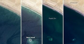 """Bí ẩn hòn đảo trỗi dậy sau động đất rồi bị """"nuốt chửng"""" ngoài khơi Pakistan"""
