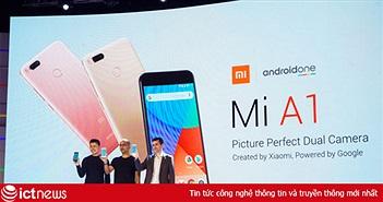 Bước ngoạt mới khi Android One trở lại với Xiaomi Mi A1