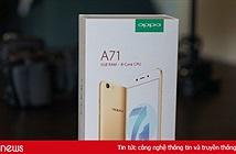 Mở hộp Oppo A71 giá 4,69 triệu đồng tại Việt Nam