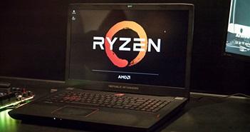 Choáng với mức hiệu năng của chiếc laptop gaming đầu tiên chạy Ryzen