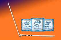 Intel Core i thế hệ thứ 8 bỏ 2 nhân lên 4 nhân mạnh hơn bao nhiêu?