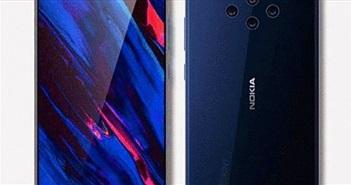 """NÓNG: Rò rỉ Nokia 9 với ma trận camera, các đối thủ """"chóng mặt"""""""