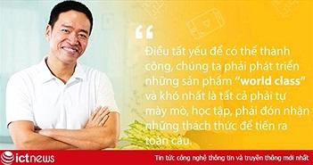 """Sáng nay, Chủ tịch VNG Lê Hồng Minh đăng đàn về khởi nghiệp tại sự kiện """"ASEAN 4.0 cho tất cả mọi người"""""""