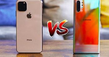 """iPhone 11 rất tốt, nhưng vẫn """"thèm khát"""" những điểm này của Galaxy Note 10"""