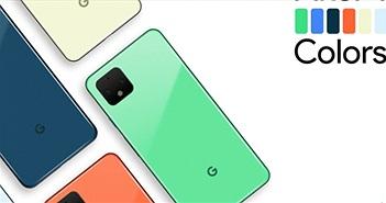 Pixel 4 sẽ có các tùy chọn màu sắc như cầu vồng