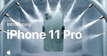 Apple ra mắt iPhone 11 Pro: nâng cấp cấu hình, 3 camera, giá 999 USD