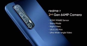 Realme 7 cháy hàng ở Ấn Độ, sắp bán ở Việt Nam, giá từ 4,5 triệu