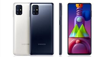 Samsung Galaxy M51 ra mắt: Pin 7.000 mAh, RAM 6GB/8GB, 4 camera, giá từ 340 USD