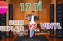 Test đĩa LP mạ đồng DMM Dubplate trên dàn ultra hi-end trị giá 17 tỉ đồng