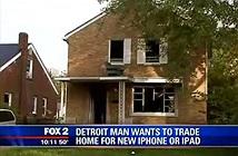 Đổi nhà thành phố để lấy iPhone 6