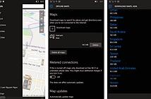 Hướng dẫn cách lưu bản đồ offline trên cả Windows 10 Mobile lẫn PC