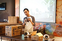 Cận cảnh bộ sưu tập loa điện động handmade đầu tiên tại Việt Nam