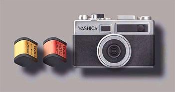 Yashica giới thiệu Y35, máy ảnh sử dụng cuộn phim điện tử