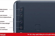 Chi tiết 4 camera trên Samsung Galaxy A9 (2018)