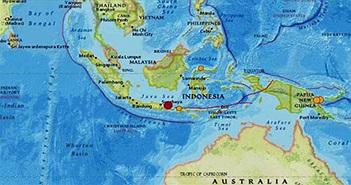 Động đất 6 độ gây sập nhà ở Indonesia, ít nhất ba người chết