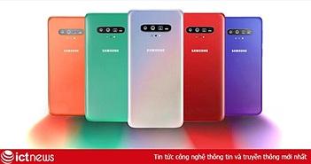 Samsung Galaxy S11 lộ diện thiết kế qua bằng sáng chế mới