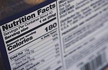 Cách đọc hàm lượng chất béo, đường và muối trên nhãn dinh dưỡng thực phẩm