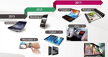 Smartphone màn hình cong LG 'lên lịch' năm 2015